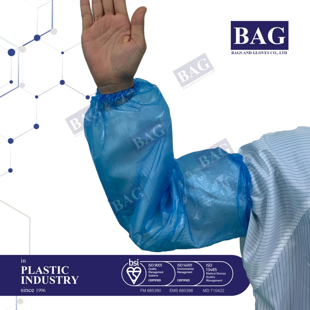 Disposable plastic Armsleeve