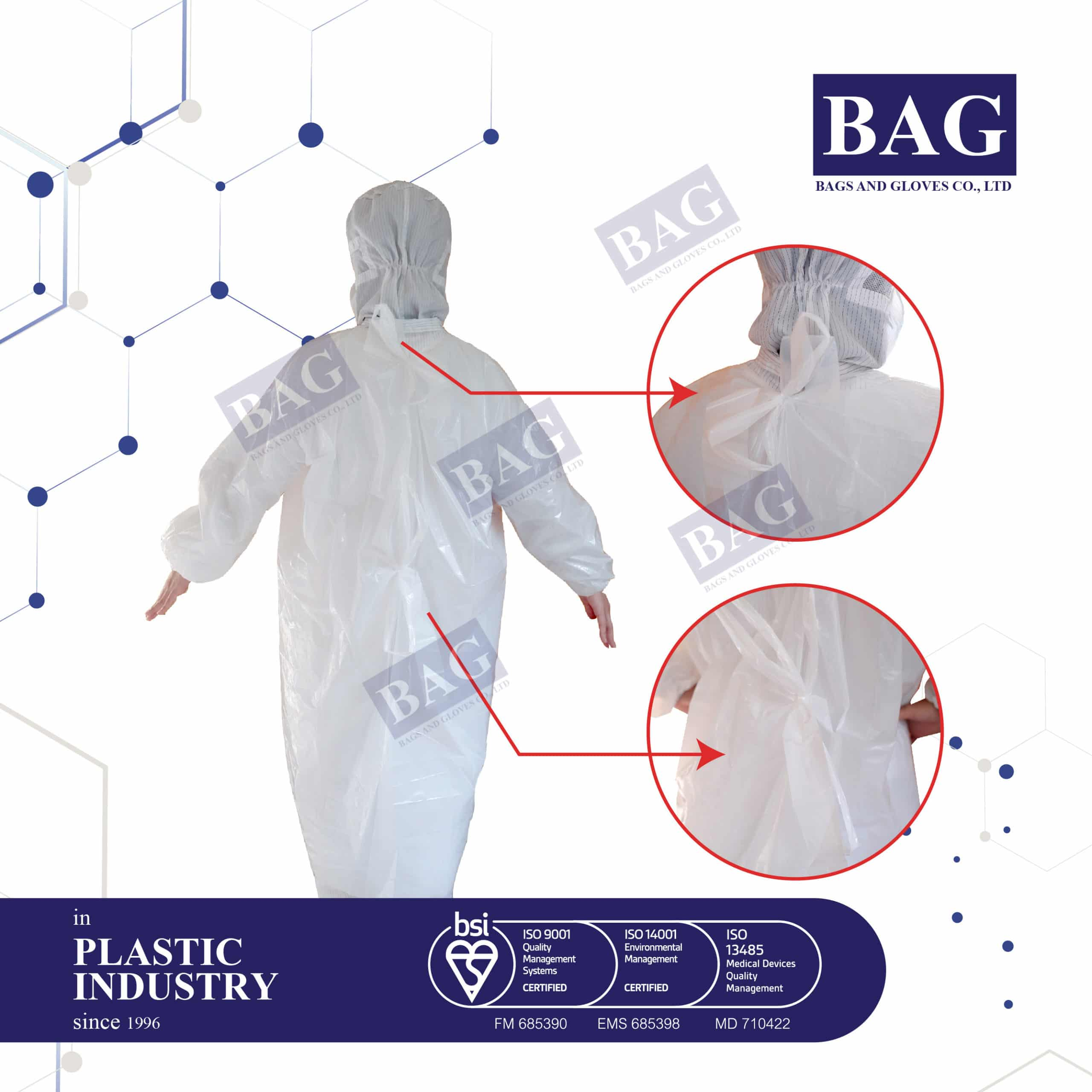 Disposable Coverall Gown