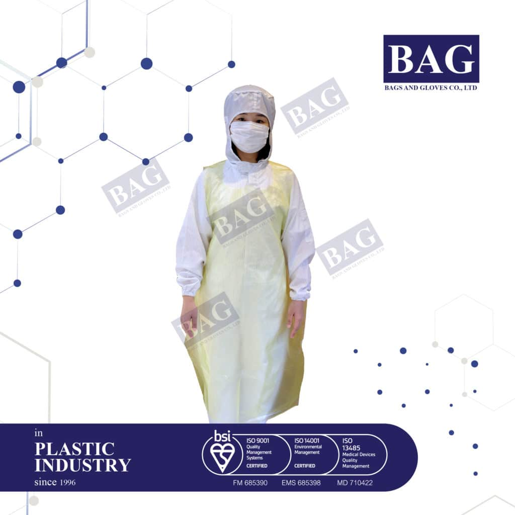 Disposable HDPE Aprons